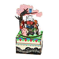 Puzzles Sets zum Selbermachen Holzpuzzle Bausteine Spielzeug zum Selbermachen Fotograf Zeichentrick Komposit