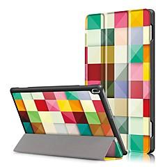 Print hoesje voor lenovo tab4 tab 4 10 x304f tb-x304f tab4-x304n tb4-x304 met schermbeveiliging