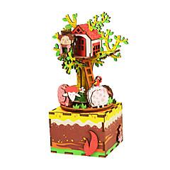 Holzpuzzle Spielzeuge Fotograf Zeichentrick Heimwerken Kinder Stücke