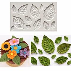 Bakeware-työkalut Silkonikumi / silikageeli / Silikoni Tarttumaton / Leivonta Tool / 3D Cookie / Suklaa / For Keittoastiat kakku Muotit 1kpl