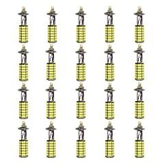 billige Tåkelys til bil-H1 Bil Elpærer 4W W SMD 3528 385lm lm LED Light Bulbs Tåkelys