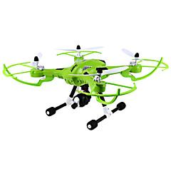 billige Fjernstyrte quadcoptere og multirotorer-RC Drone JJRC H26 6 Akse 2.4G Med HD-kamera 3.0MP 300 Fjernstyrt quadkopter LED Lys Flyvning Med 360 Graders Flipp Fjernstyrt Quadkopter