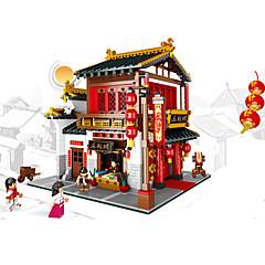 XINGBAO Rakennuspalikat Lelut Kiinalainen arkkitehtuuri Pieces Unisex Lahja