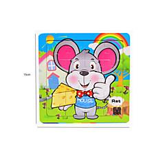 Bildungsspielsachen Holzpuzzle Spielzeuge Maus andere friut Unisex Stücke