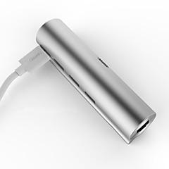 billige USB Hubs & Kontakter-Unitek 3 USB Hub USB 3.0 Type C USB 3.0 med Ethernet Data Hub