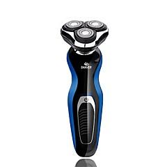 billige Barbering og hårfjerning-Elektriske barbermaskiner Vannavvisende Avtagbar Lang Standby Vaskbar Ergonomisk Design Herrer 100-240V Vannavvisende Avtagbar Lang