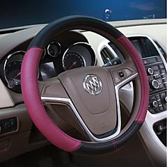 billige Rattovertrekk til bilen-Rattovertrekk til bilen Lær 38 cm Rosa / Lilla / Gul Til Buick Excelle / Excelle 15N / Excelle 18T Alle år