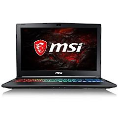 MSI ノートパソコン 15.6インチ インテルi7の クアッドコア 8GB RAM 1TB 128ギガバイトのSSD ハードディスク Windows10 GTX1060 6ギガバイト