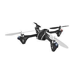 billige Fjernstyrte quadcoptere og multirotorer-RC Drone Hubsan H107L 4 Kanal 6 Akse Fjernstyrt quadkopter Fremover bakover LED Lys Flyvning Med 360 Graders Flipp Programmeringskabel