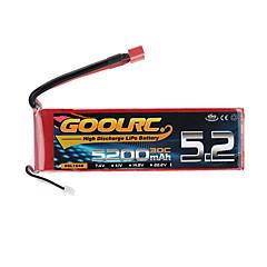 baratos -1pç Bateria RC Carros / Buggy / Caminhões Metalic
