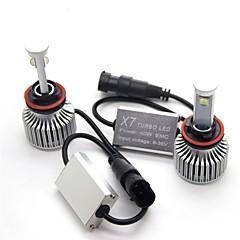 baratos -joyshine x7-h11 (h8 h9) levou lâmpadas de faróis 80w 7200lm conversão de feixe de estilo de arco ultra brilhante (2pcs)