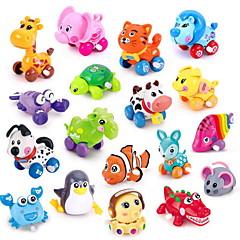 Brinquedo Educativo Brinquedos de Corda Carros de brinquedo Brinquedos Animal Plásticos Peças Não Especificado Dom