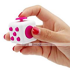 billige Håndspinnere-Fidgetleker Fidgetkube Magiske kuber Pedagogisk leke Stresslindrende leker Nyhet Silikon Gummi Plast Deler Gutt Barne Voksne Gave