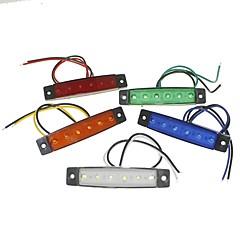 baratos Luzes para Carro-SENCART 1 Peça Caminhão Lâmpadas 1.5W SMD LED 120lm 6 luzes exteriores For Universal Todos os Anos