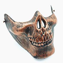 lebka skelet airsoft paintball polovina tvář ochranné zařízení maska stráž halloween maškaráda cosplay strana kostým prop