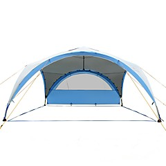 > 8 personen Tent Tent met gaas Trucktent Luifeltent Enkel Kampeer tent Eèn Kamer Gezinstenten Winddicht Regenbestendig Ademend
