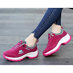 Running Shoes Mountaineer Shoes Women's Anti-Slip Rain-Proof Wearable Breathability Leisure Sports Low-Top Real Leather Tulle Latex Rubber