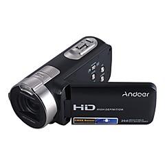 andoer hdv-312p 1080p täyshd digitaalinen videokamera kannettava kotikäyttö dv kanssa 2.7 tuuman pyörivä lcd-näyttö max. 20 megapikselin