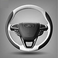 billige Rattovertrekk til bilen-Kjøretøy Rattovertrekk til bilen(Lær)Til Ford Alle år Alle Modeller