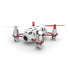 billige Fjernstyrte quadcoptere og multirotorer-RC Drone Hubsan H111C 4 Kanal 6 Akse Fjernstyrt quadkopter LED Lys / Flyvning Med 360 Graders Flipp Fjernstyrt Quadkopter / Fjernkontroll