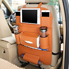 Vehicle Seat Car Organizers For universal All years Leather