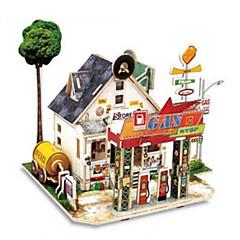 3D - Puzzle Spielzeuge Architektur Häuser 1 Stücke