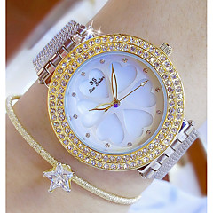 cheap -Women's Fashion Watch Simulated Diamond Watch Unique Creative Watch Japanese Quartz Water Resistant / Water Proof Colorful Stainless Steel