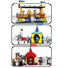 אבני בניין צעצועים טירה מגדל סרט מצוייר ארכיטקטורה טירה עיצוב קריקטורה נערים 565 חתיכות