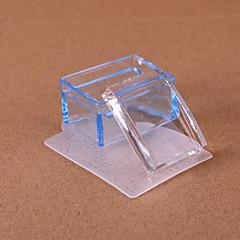 billige Neglestempling-1 Tilbehør Krystall Pleie Art Deco/Retro Stamper & Scraper DIY Utstyr Maling verktøy Tegneverktøy 3D Nail Stamping Template Daglig Mote