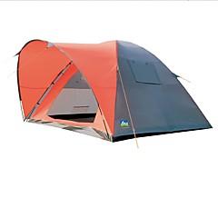 5-8 personer Telt Campingpresenninger Skjermtelt Kanapetelt Dobbelt camping Tent Ett Rom med Vestibyle Familietelt Vindtett til Fisking