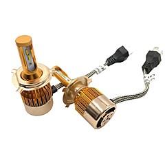 저렴한 -2 전구 72W W 고성능 LED 7600lm lm 4 헤드램프 For유니버셜 전체 모델 모든 년도