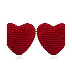Naisten Niittikorvakorut Korvarenkaat Personoitu söpö tyyli Tekstiili Plyysi Korut Käyttötarkoitus Kausaliteetti Katu