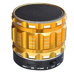 cheap -S22 Bluetooth Radio Built-in Microphone V4.0 3.5mm AUX USB Subwoofer Gold Black Silver Crimson Light Blue