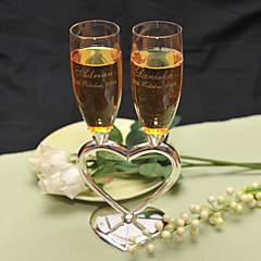 zink legering toasting fløjter gaveæske toasting fløjter bryllup reception