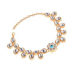 tanie Piercing-Artystyczny - Damskie Gold Silver Łańcuszek na kostkę Na Impreza Wyjściowe