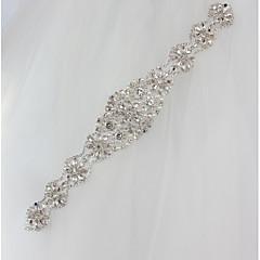 cheap -Bride rhinestone wedding dress bead flowers
