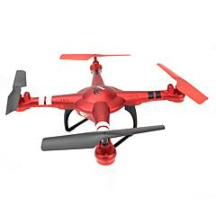 billige Fjernstyrte quadcoptere og multirotorer-RC Drone Q222 4 Kanal 6 Akse 2.4G Fjernstyrt quadkopter LED-belysning Hodeløs Modus Flyvning Med 360 Graders Flipp Fjernstyrt Quadkopter