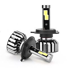 joyshine n7-h4 (9003 hb2 oi / lo) 80w 8000lm ip68 6000k dc9-36v lâmpadas de faróis de carro led (2pcs)