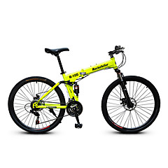 אופני הרים רכיבת אופניים 21 מהיר 700CC/26 אינץ' SAIGUAN EF-51 דיסק בלימה כפול מזלג שיכוך קיפול רגיל מתכת פחמית