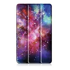 billige Nettbrettetuier&Skjermbeskyttere-Etui Til Huawei Heldekkende etui Tablet Cases Trykt mønster Hard PU Leather til