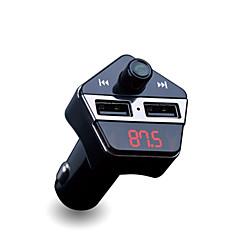 ape6 omistettu Bluetooth-autolaturi mp3-soitin fm lähetin auto GPS-paikannus
