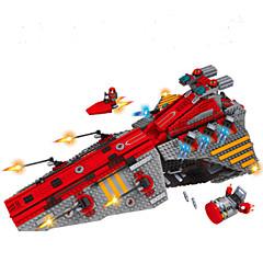 אבני בניין טיל וחללית לוחם צעצועים חללית Military נערים 1472 חתיכות