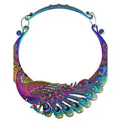 halpa -Naisten Riikinkukko Vintage Riipus-kaulakorut Synteettinen timantti Metalliseos Riipus-kaulakorut , Party Päivittäin
