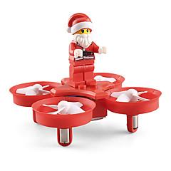 billiga Leksaker och spel-RC Drönare JJRC H67 4 Kanaler Radiostyrd quadcopter Huvudlös-läge / 360-Graders Flygning Radiostyrd Quadcopter / Fjärrkontroll / USB kabel