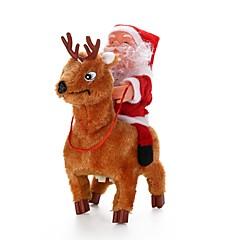 クリスマスギフト クリスマス向けおもちゃ クリスマスツリー飾り おもちゃ サンタスーツ アニマル 休暇 旅行 新デザイン 小品