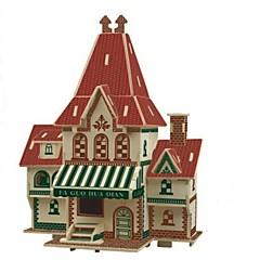 baratos -Quebra-Cabeças 3D / Quebra-Cabeça / Brinquedos de Montar Casas / Moda / Casa Crianças / Novo Design / Venda imperdível 1 pcs Clássico / Moderno / Contemporâneo / Fashion Crianças Dom