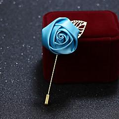 billige Motebrosjer-Herre Dame Nåler Formelt Klassisk Legering Geometrisk Form Smykker Til Bryllup Fest