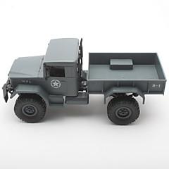 baratos Carros Controle Remoto-Carro com CR WPLB-14 2.4G Jipe (Fora de Estrada) / Rock Climbing Car / Drift Car KM / H Controlo Remoto / Recarregável / Elétrico