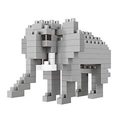 אבני בניין צעצועים פיל חיות סרט מצוייר חיה בעלי חיים חיות עשה זאת בעצמך 100 חתיכות