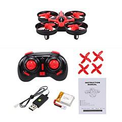 billige Fjernstyrte quadcoptere og multirotorer-RC Drone NIHUI NH-010 4 Kanal 6 Akse 2.4G Med HD-kamera 0.3MP Fjernstyrt quadkopter Fremover bakover En Tast For Retur Flyvning Med 360
